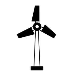 Turbine generator energy icon vector