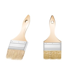 Two brush vector