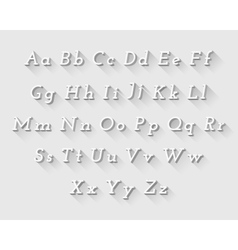 White font vector