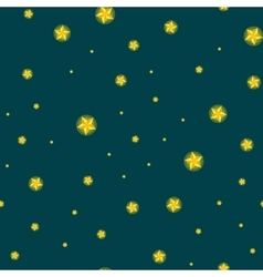 stars seamless pattern for christmass vector image