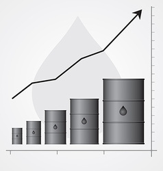 Oil infographics vector image vector image