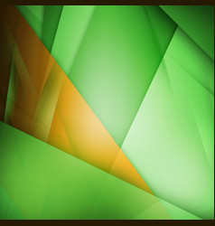 abstract background green and orange background vector image