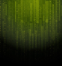 Abstract matrix background vector