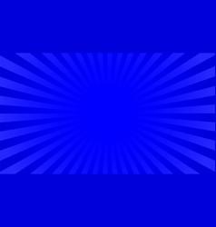 bright indigo rays background vector image