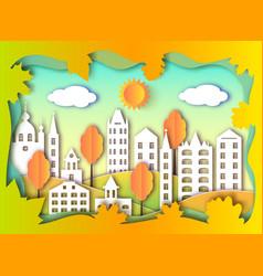 Building of big city vector