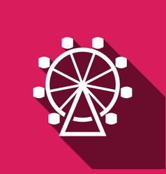 Carousel icon vector
