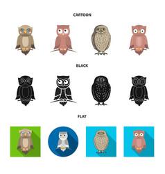 Design animal and tattoo logo set vector