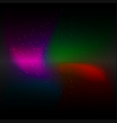 Galaxy cosmic background and light colorful stars vector
