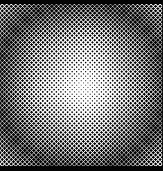 geometrical halftone diagonal square pattern vector image