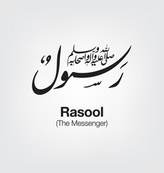 Rasool vector