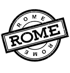Rome rubber stamp vector