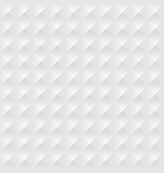 white geometric seamless pattern vector image