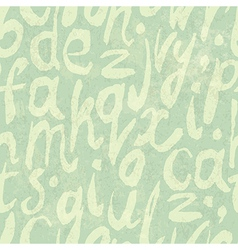 seamless handdrawn pattern delicate colors vector image