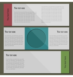 Business modern template vector image