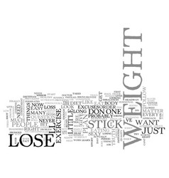 why cant i lose weight right now text word cloud vector image