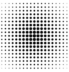 geometrical abstract halftone circle pattern vector image vector image