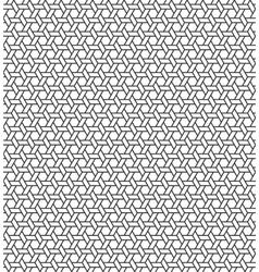 Seamless Geometric Pattern Regular Tiled Ornament vector image vector image
