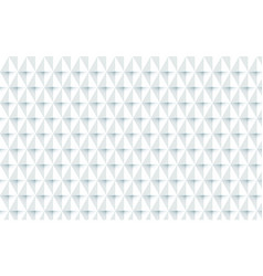 abstract white geometric repeating background vector image