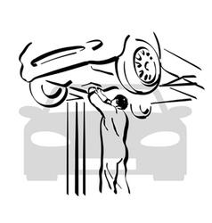 Auto repair 1 vector