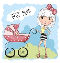 Best mom vector