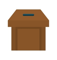 Box icon vote design graphic vector