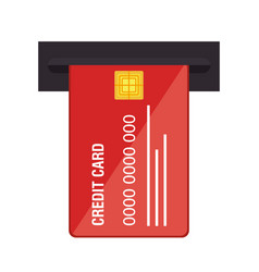 Credit card electronic commerce vector