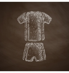 Football clothing icon vector