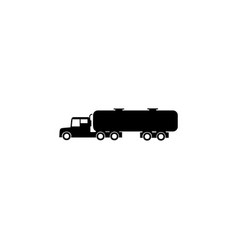 gasoline tanker icon element of car type icon vector image