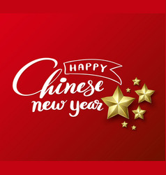 oriental happy chinese new year vector image