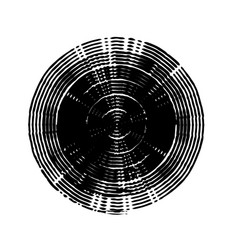 Stroke spiral stamp 05 vector
