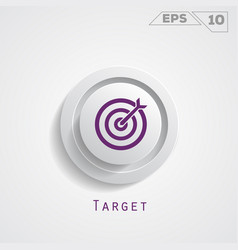 target circle icon vector image
