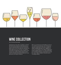 Wine Flyer vector