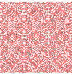 abstract seamless squares pattern vector image vector image