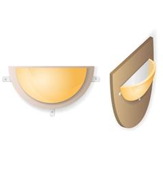 Wall lamp vector image vector image