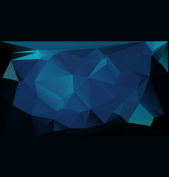 blue low polygonal texture futuristic vector image