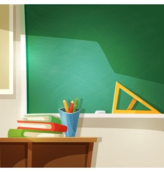 Classroom Cartoon vector image vector image