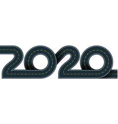 2020 year vector