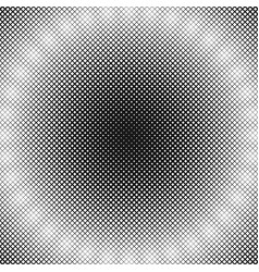 abstractal halftone square background pattern vector image