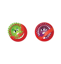 Antibacterial vector image