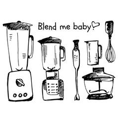 Blender sketch smoothie vector