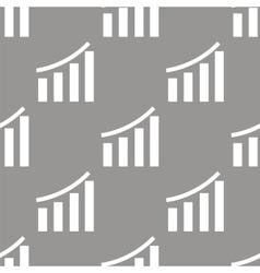 Chart seamless pattern vector image
