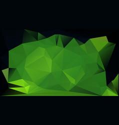 Dark green horizontal background vector