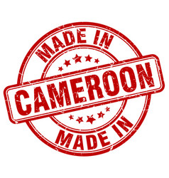 Made in cameroon vector