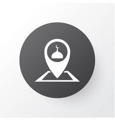 place icon symbol premium quality isolated vector image