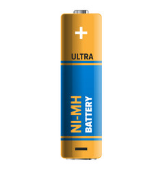 Powerful and compact ni-mh battery vector