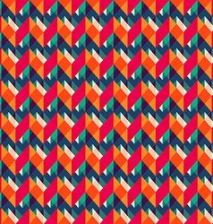 retro zigzag seamless texture vector image