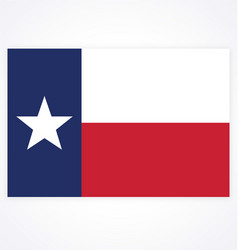 Texas tx state flag accurate correct vector