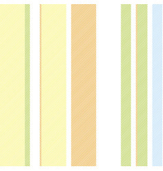 green orange striped background seamless pattern vector image vector image