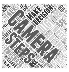 Three steps word cloud concept vector