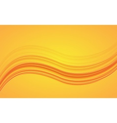 Abstract orange waves - data stream concept vector